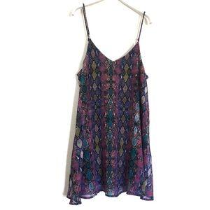 "Show Me Your Mumu ""Estella Topslip"" Print Dress XS"